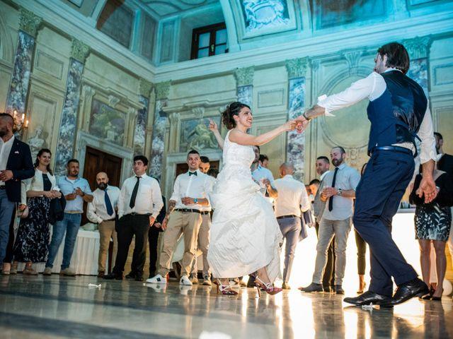 Il matrimonio di Emanuele e Erica a Leno, Brescia 85