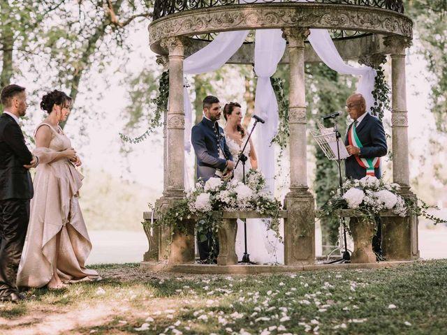 Il matrimonio di Alberto e Melania a Martellago, Venezia 17