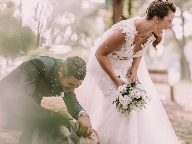Le nozze di Melania e Alberto