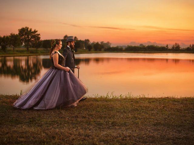 Il matrimonio di Antonio e Erica a Salvirola, Cremona 45