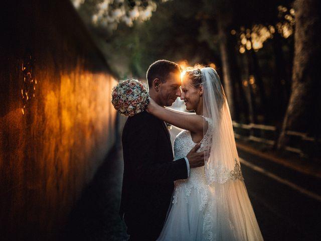 Le nozze di Romina e Giorgio