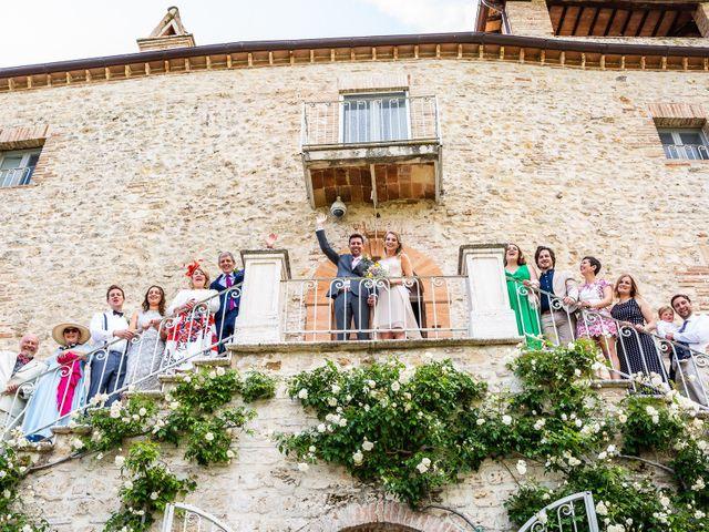 Il matrimonio di Patrik e Fiona a Massa Martana, Perugia 41