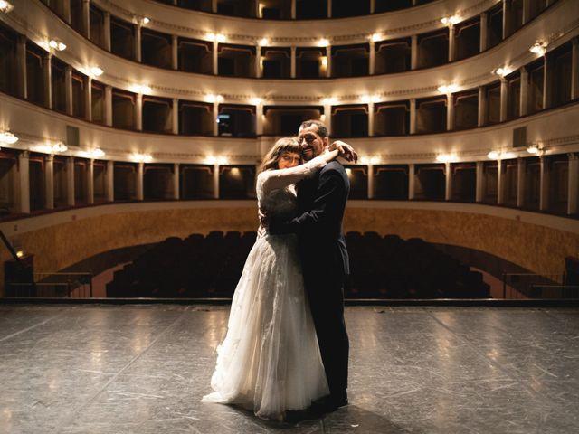 Le nozze di Martina e Renzo
