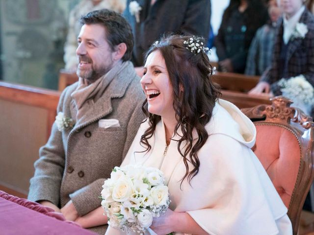 Il matrimonio di Milko e Romina a Nus, Aosta 26