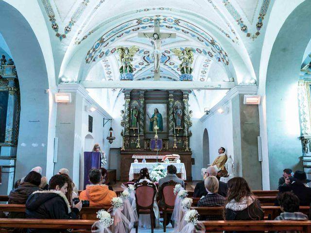 Il matrimonio di Milko e Romina a Nus, Aosta 27
