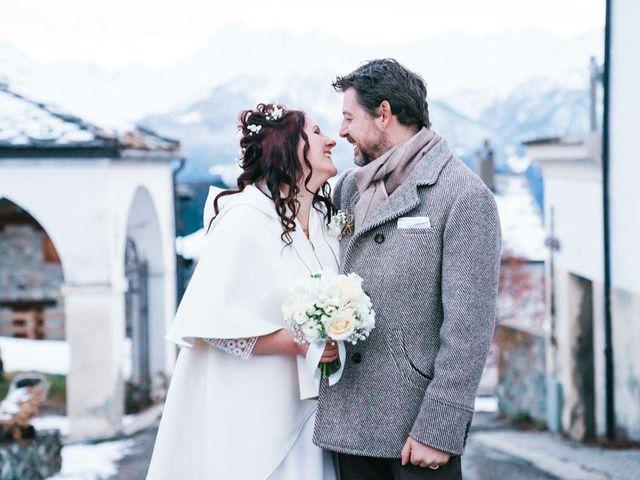 Il matrimonio di Milko e Romina a Nus, Aosta 33