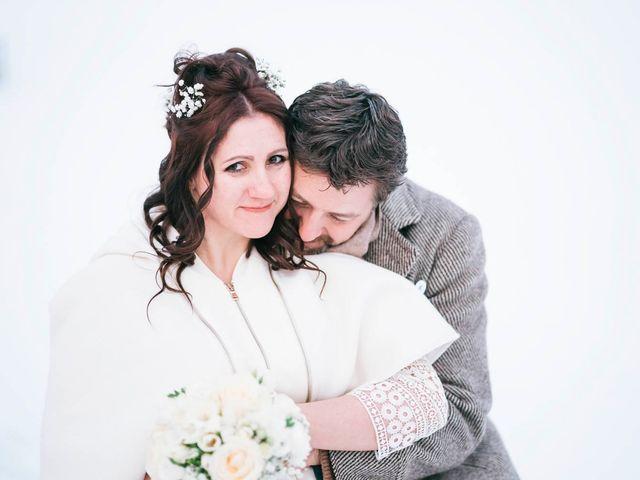 Il matrimonio di Milko e Romina a Nus, Aosta 35