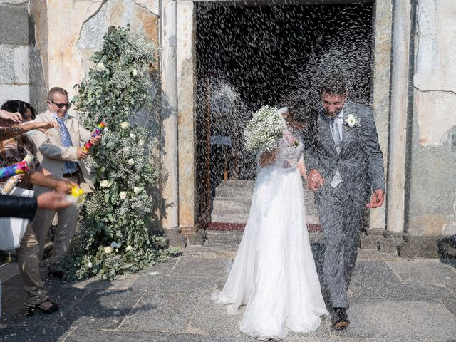 Il matrimonio di Matteo e Claudia a Pombia, Novara 28