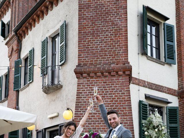 Il matrimonio di Matteo e Claudia a Pombia, Novara 30