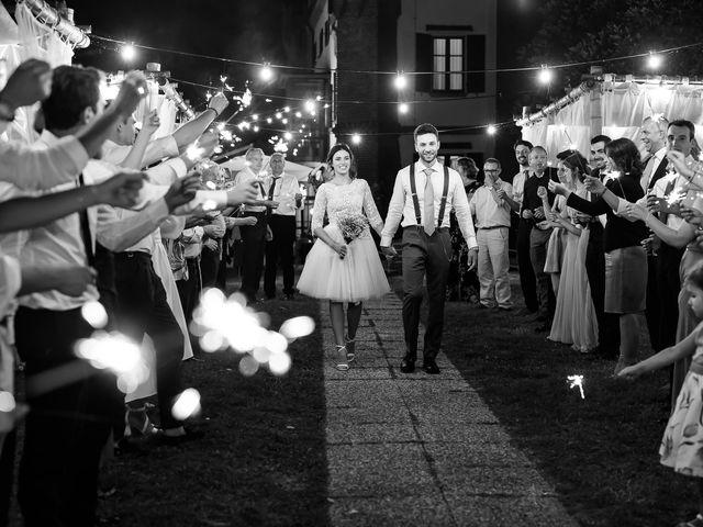 Il matrimonio di Matteo e Claudia a Pombia, Novara 46