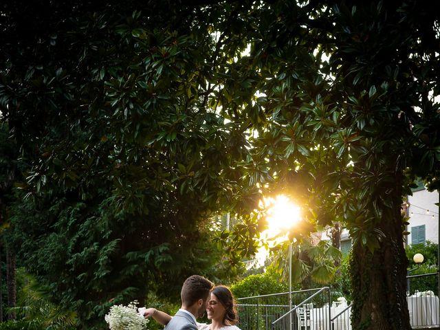 Il matrimonio di Matteo e Claudia a Pombia, Novara 40