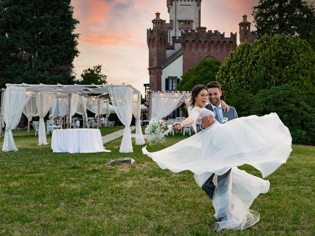 Il matrimonio di Matteo e Claudia a Pombia, Novara 43