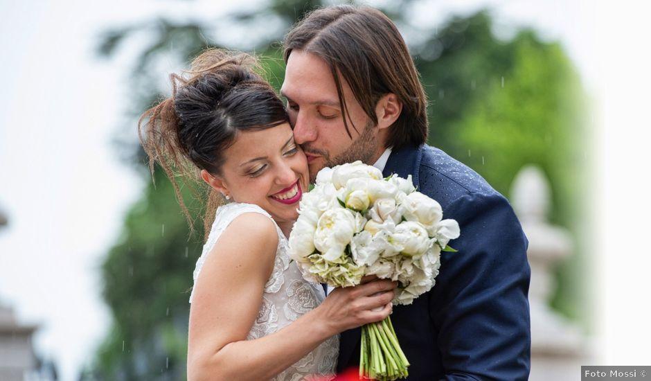 Il matrimonio di Emanuele e Erica a Leno, Brescia