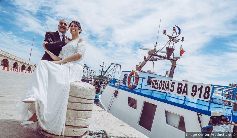 Il matrimonio di Claudia e Enzo a Mola di Bari, Bari