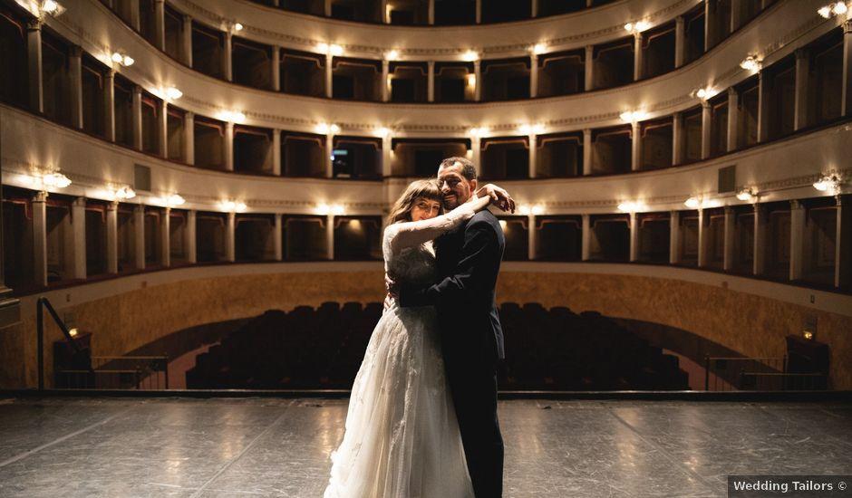 Il matrimonio di Renzo e Martina a Pescia, Pistoia