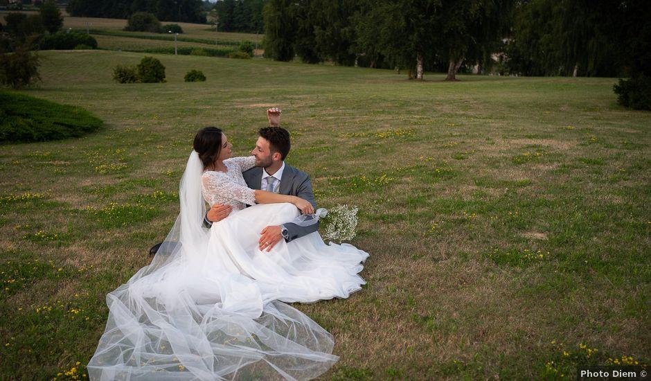 Il matrimonio di Matteo e Claudia a Pombia, Novara