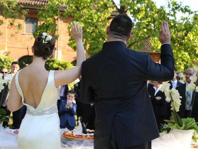 Il matrimonio di Dario e Francesca a Assago, Milano 83