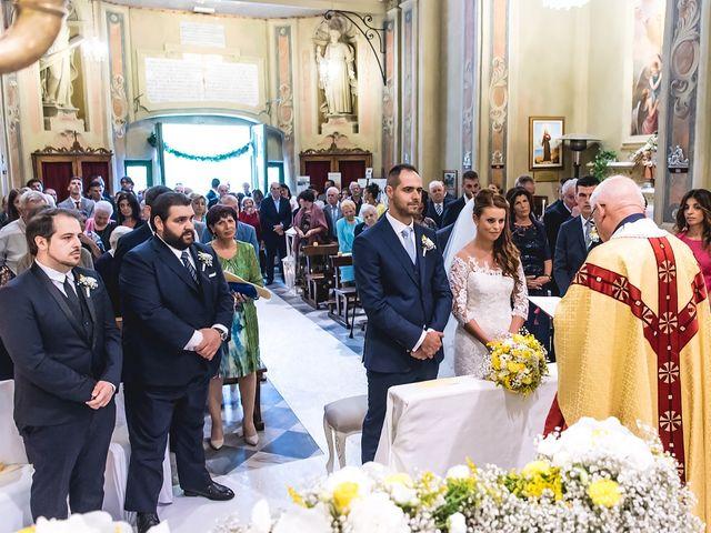 Il matrimonio di Simone e Federica a Castellaro, Imperia 20