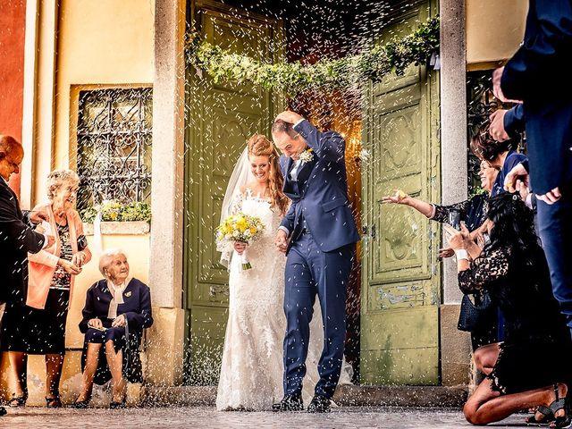 Il matrimonio di Simone e Federica a Castellaro, Imperia 28