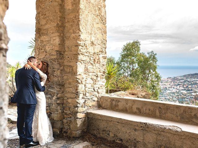 Il matrimonio di Simone e Federica a Castellaro, Imperia 33