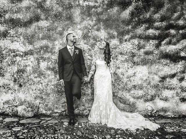 Il matrimonio di Simone e Federica a Castellaro, Imperia 34