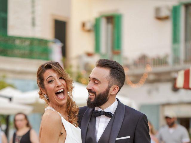 Il matrimonio di Francesca e Elio a Monopoli, Bari 37