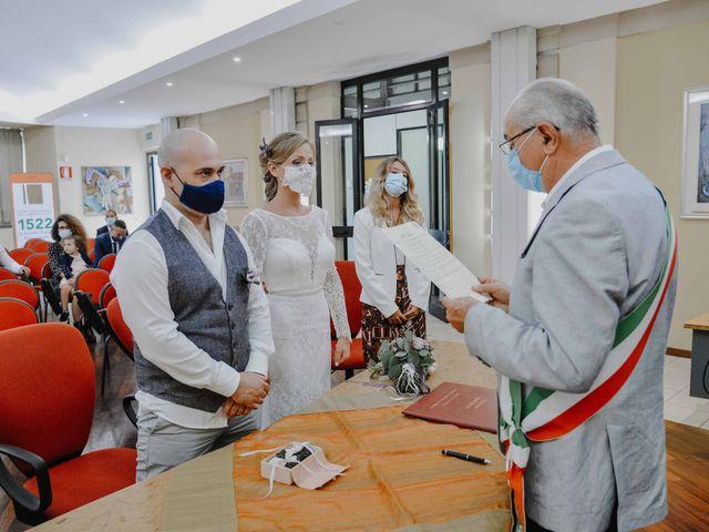 Il matrimonio di Deborah e Antonio a Gornate-Olona, Varese 1