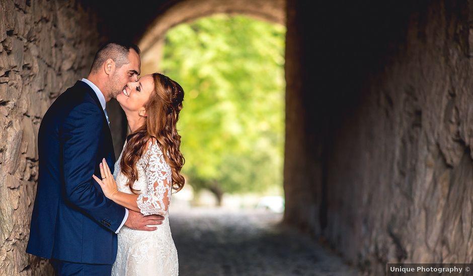 Il matrimonio di Simone e Federica a Castellaro, Imperia