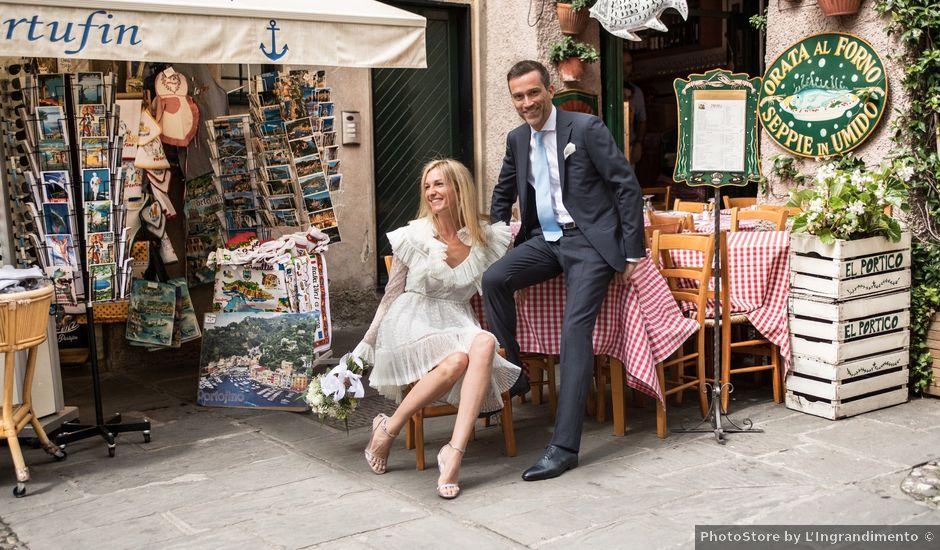Il matrimonio di Alessandro e Beatrice a Portofino, Genova
