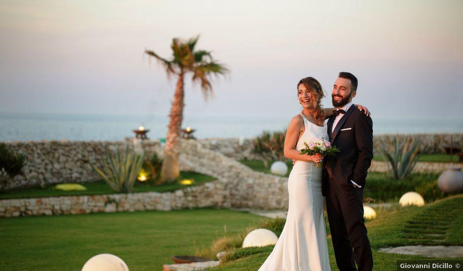 Il matrimonio di Francesca e Elio a Monopoli, Bari