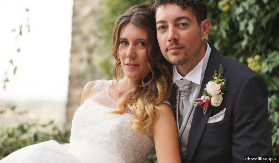 Il matrimonio di Giulia e Andrea a Lesignano de' Bagni, Parma