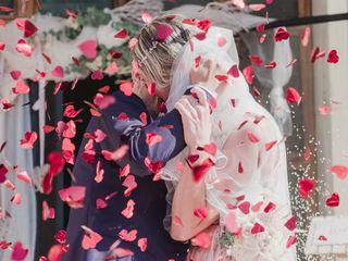 Le nozze di Nathalie e Moreno 1