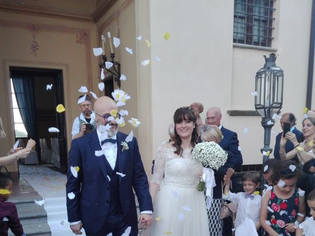 Il matrimonio di Massimiliano  e Tiziana a Cortanze, Asti 9