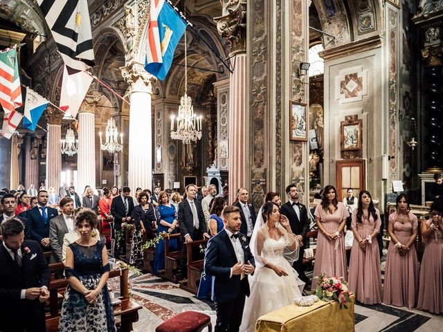 Il matrimonio di Fabio e Emanuela a Varazze, Savona 36