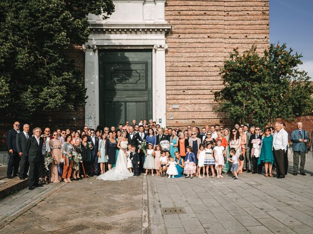 Il matrimonio di Marco e Giulia a Lido di Venezia, Venezia 50