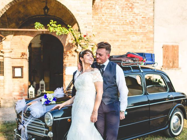 le nozze di Laura e Emiliano