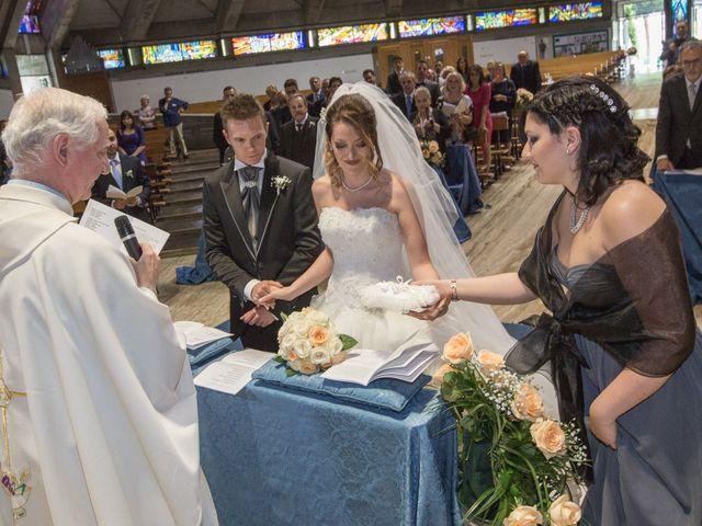 Il matrimonio di Rosario e Angelica a Grottaferrata, Roma 25