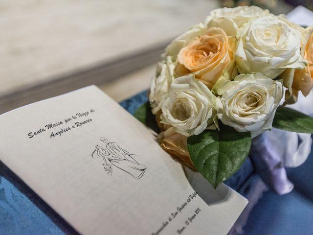 Il matrimonio di Rosario e Angelica a Grottaferrata, Roma 31