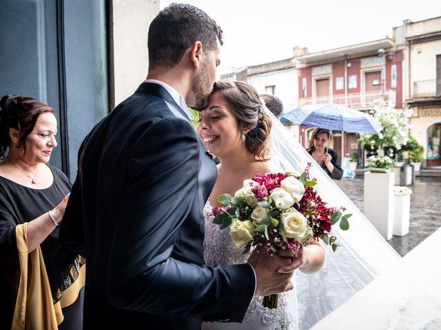 Il matrimonio di Agata e Biagio a Fiumefreddo di Sicilia, Catania 34