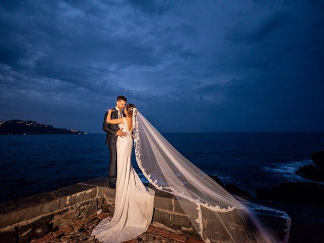 Il matrimonio di Agata e Biagio a Fiumefreddo di Sicilia, Catania 54