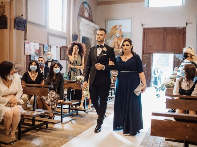 Il matrimonio di Vincenzo e Federica a Parma, Parma 51