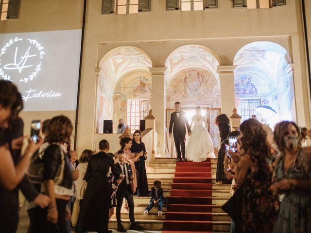 Il matrimonio di Vincenzo e Federica a Parma, Parma 144