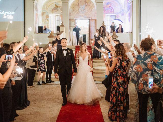 Il matrimonio di Vincenzo e Federica a Parma, Parma 145
