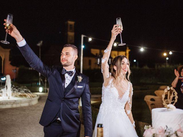 Il matrimonio di Vincenzo e Federica a Parma, Parma 160