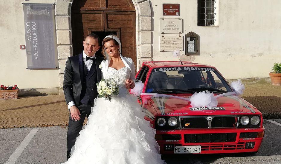 Il matrimonio di David e Martina a San Severino Marche, Macerata