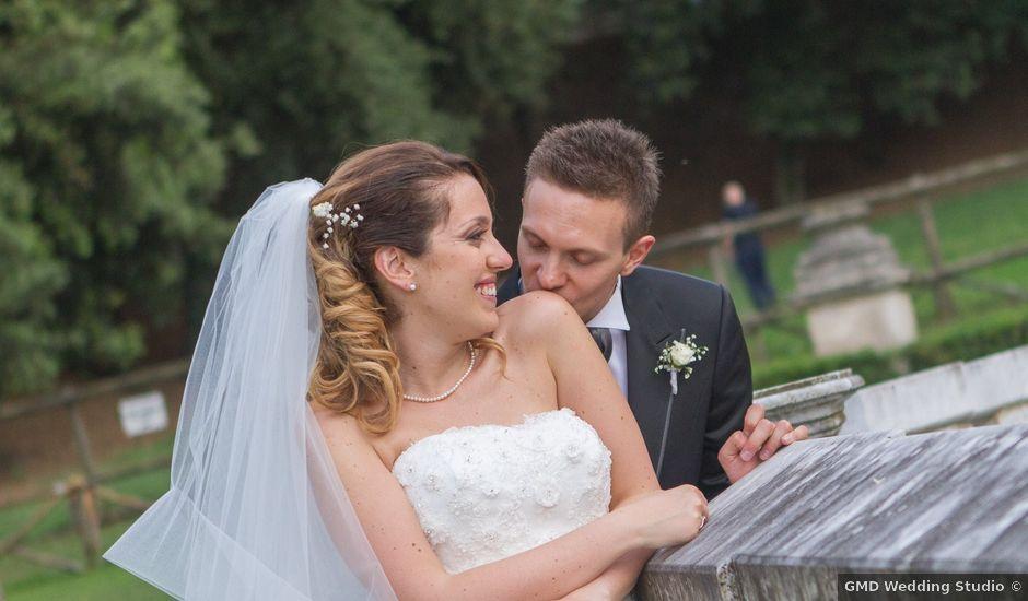 Il matrimonio di Rosario e Angelica a Grottaferrata, Roma