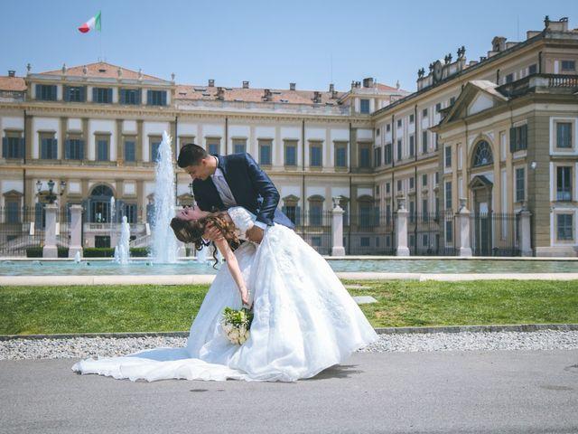 Il matrimonio di Davide e Valentina a Monza, Monza e Brianza 2