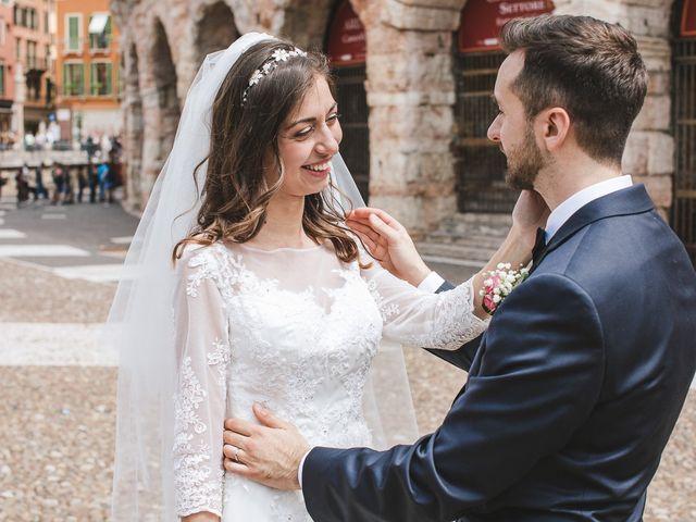 Il matrimonio di Elia e Georgiana a Verona, Verona 1