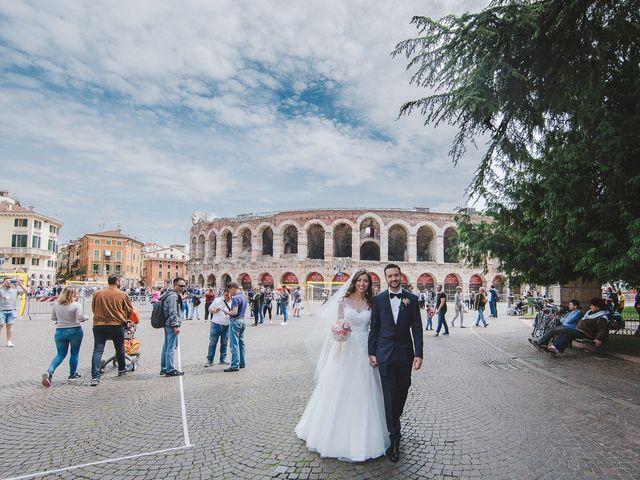 Il matrimonio di Elia e Georgiana a Verona, Verona 2
