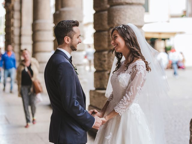 Il matrimonio di Elia e Georgiana a Verona, Verona 4